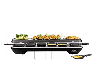 Appareil raclette simply line cuisine conviviale tefal for Appareil cuisine conviviale